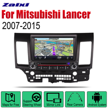 ZaiXi Auto DVD Player GPS Navigation For Mitsubishi Lancer 2007~2015 Car Android Multimedia System Screen Radio Stereo android 8 1 ram 4gb rom 32gb no dvd car gps navigation nead unit for mitsubishi lancer lancer x galant fortis 2007 2017 evo 10