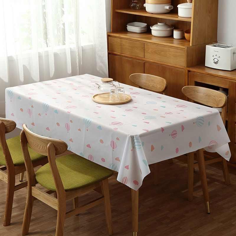 מלבני שולחן בד עמיד למים שולחן כיסוי מפת שולחן מודפס Dustproof אוכל Manteles קפה שולחן כיסוי מטבח דקור