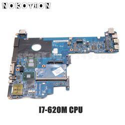 NOKOTION 598765 001 płyta główna dla HP Elitebook 2540P Laptop płyta główna KAT10 LA 5251P I7 620M CPU DDR3 w Płyty główne od Komputer i biuro na