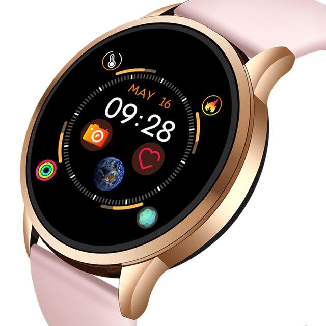LIGE 2019 gorąca sprzedaż inteligentne zegarki pulsometr monitor ciśnienia krwi inteligentny zegarek kobiety Smartwatch zegarek sportowy dla IOS Android + Box