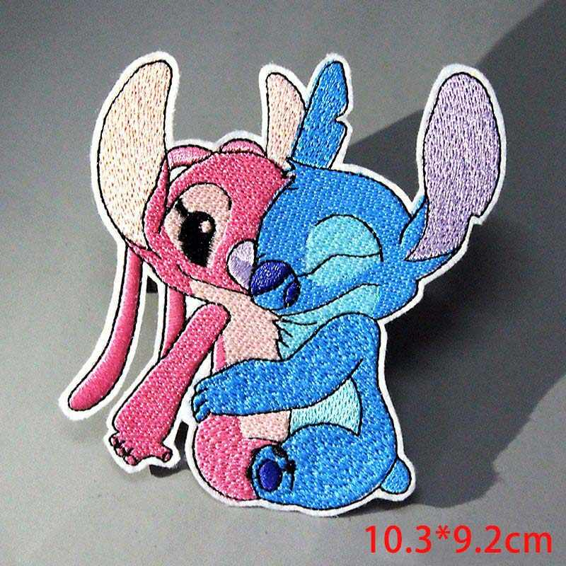 Cartoon Stitch Patch On Clothes Embroidered Anime Dragon Ball Patches for Clothing Iron On Patches For Clothes Applique Stripe F