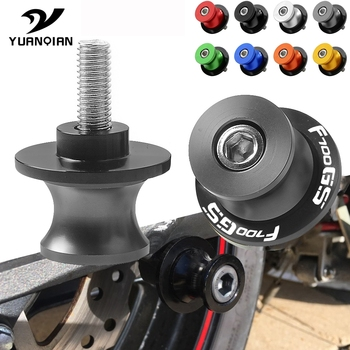 Motorcycle Accessories Parts Swingarm Spools Slider Stand Screws 6mm 8mm 10mm Motor Stand Screws For BMW F700GS F 700GS F700 GS image