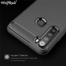 For Cover Xiaomi Redmi Note 8 Case Shockproof Bumper Carbon Fiber Fundas