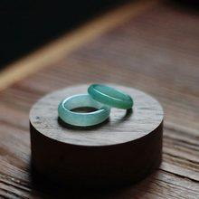 De jadeíta Natural tallado a mano de Jade anillo Boutique de moda de joyería de los hombres y las mujeres es Youqing flotante flor anillo de Jade