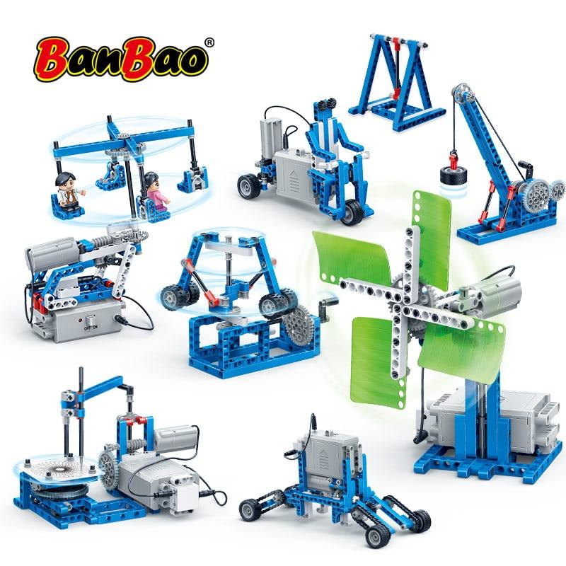 BanBao 6932 Power Machine Leverage Technic Experiment Bricks