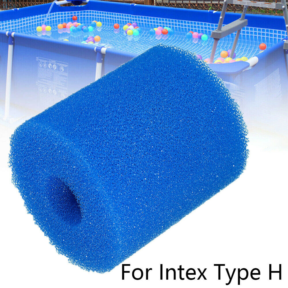 For Intex Type A Reusable Washable Swimming Pool Filter Foam Sponge Cartridge