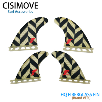 CISIMOVE Future type Transparent fiberglass Quad 4 pcs fins