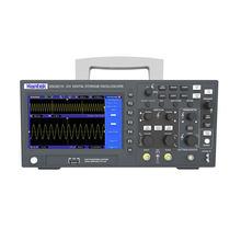 Hantek digital osciloscópio usb dso2c10 2c15 2d10 2d15 2 canais 100mhz/150mhz lcd armazenamento portátil osciloscopio