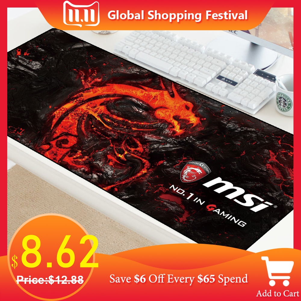 XXL Mouse Pad Large Gamer Anti-slip Rubber Pad Gaming Mousepad Keyboard Laptop Computer Speed Mice Mouse PC Desk Protector Mats