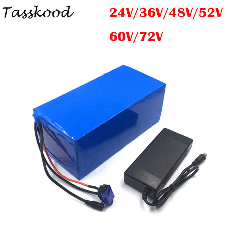 DIY Battery Pack 24V 36V 48V 52V 60V 72V  15AH 20AH 25AH 30AH 40AH Li ion Batteries for Scooter Bicycle Motorcycle