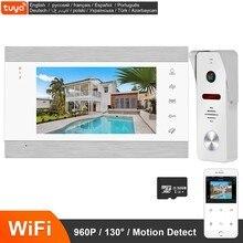960P Video Deurbel Camera Intercom Draadloze Smart Ip Video Deurtelefoon Wifi Home Security Camera Telefoon Sensor Intercom Systeem