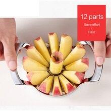Handling Stainless Steel Apple Slicer Cutter Fruit Vegetable Peeler Divider Kitchen Gadgets