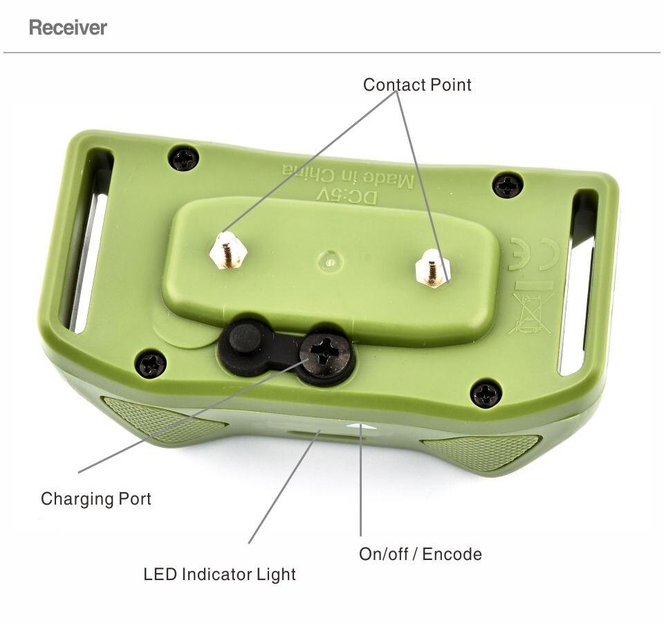 3rd Dog Electric Collar PET618