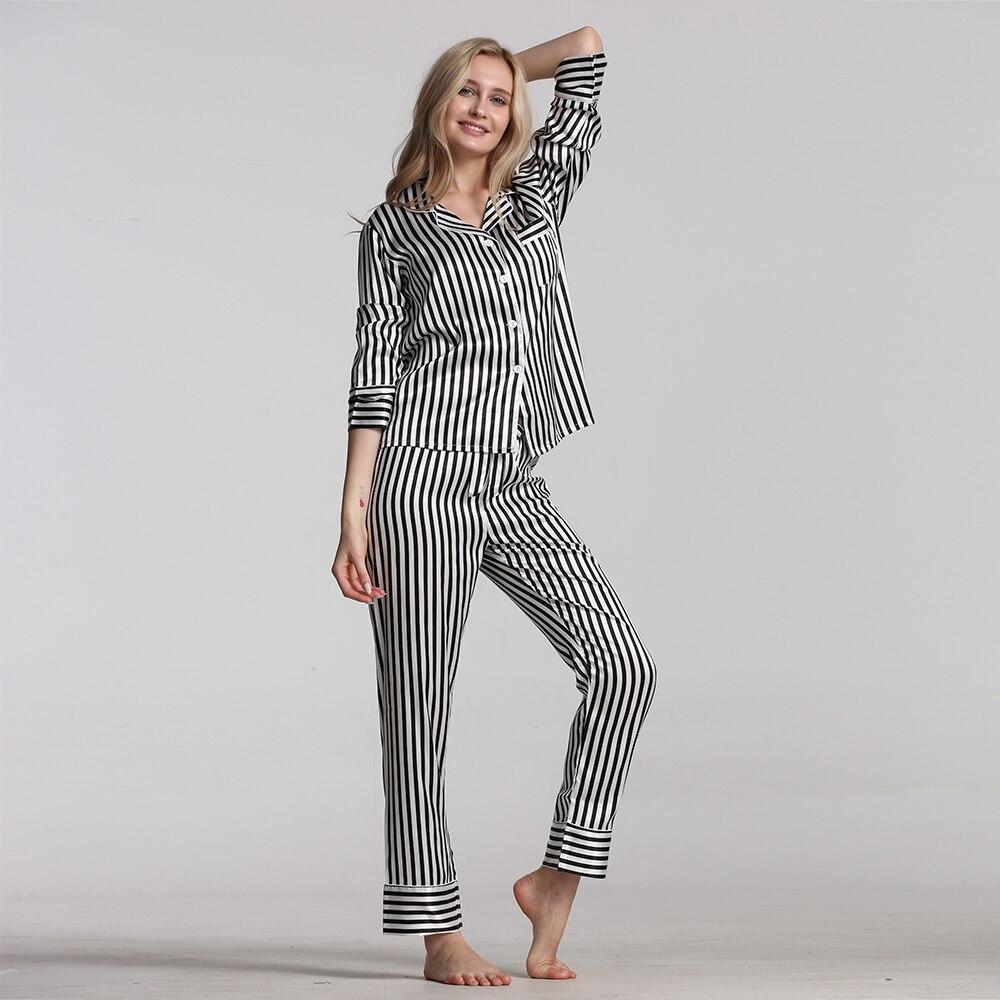 Pajamas For Women Pajamas Set Spring Autumn  New Cartoon Printed Long Sleeve Female Pyjamas Suit Cute Sleepwear Casual