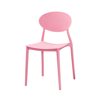 Nordic plastic chair back  stackable simple home dining  modern student leisure office designer stool