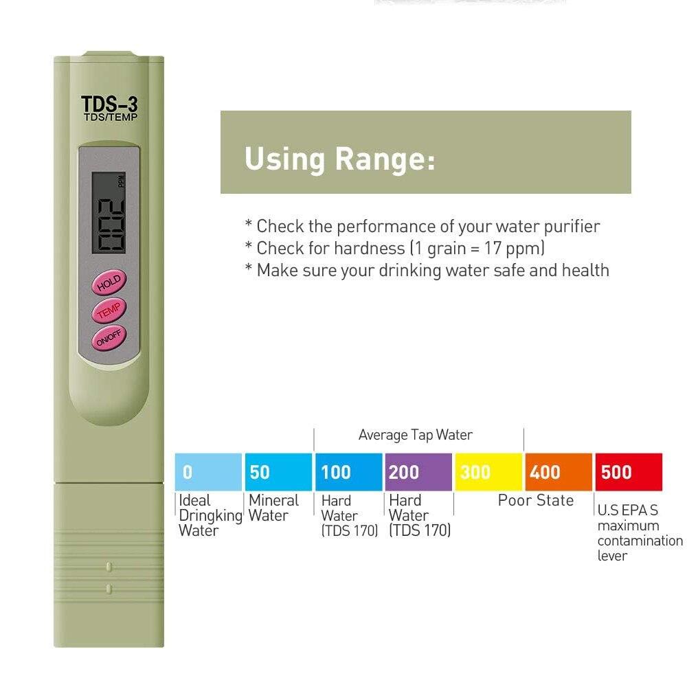 Tester Qualidade Da Água Portátil Analisador de