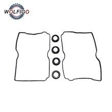 Gasket Plug-Seals Rocker-Valve-Cover Subaru Spark WOLFIGO for Legacy Forester 13294AA070