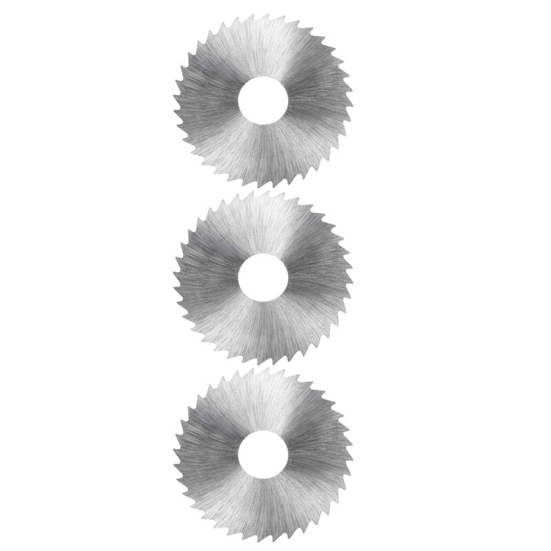 HSS пильный диск, 60 мм 36 зубчатое круглое режущее колесо 0,8 1,2 1,5 2,0 2,5 мм толщиной w 16 мм Arbor - Pack из 3
