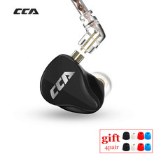 CCA CA16 7BA 1DD hibrid sürücüleri kulak kulaklık HIFI izleme kulaklık ile 2PIN kablo C12 C16 A10 ZSX AS16 ZS10 PRO VX V90
