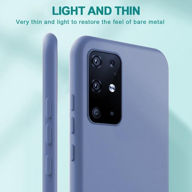 Liquid Silicone Candy Case For Samsung Galaxy A51 A71 A81 A91 A01 A11 A21 A31 A41 A50 A70 S20 Ultra S10 Plus Note 10 Lite Cover 2