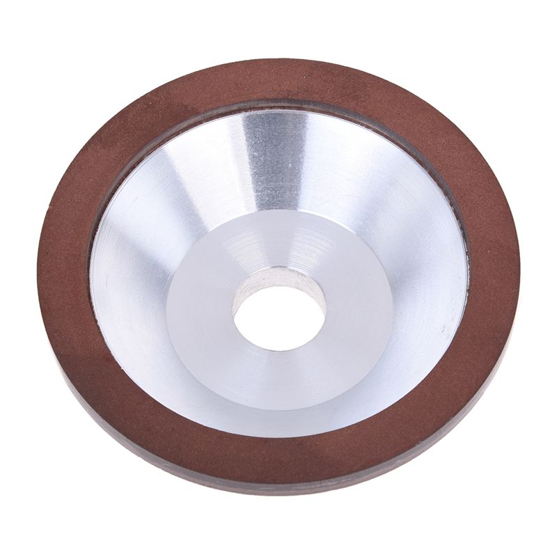 """4/""""inch Resin Bonded Flaring Cup Diamond Grinding Wheel For Carbide Metal 240 ..."""