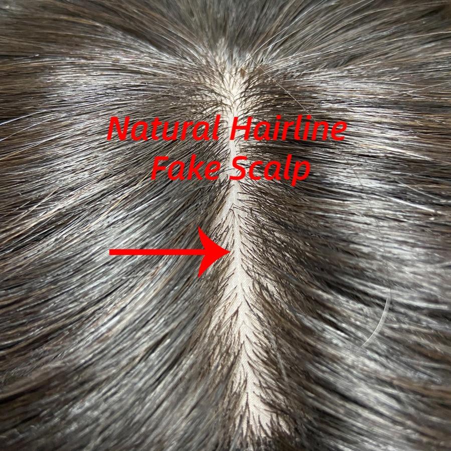 """Mw Virgin Zijden Top Haarstukken Remy Menselijk Haar Topper Pruiken 150% Dichtheid Natuurlijke Kleur Pruiken Voor Vrouwen 10"""" 12 """"2.75*3.5"""""""