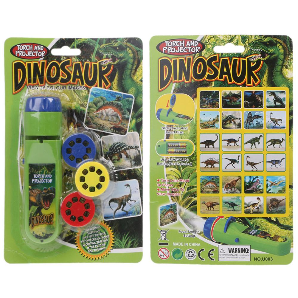 Dinosaur Sea Projector Kids Baby Toy Sleeping Story Flashlight Star Lamp Light-up Toy