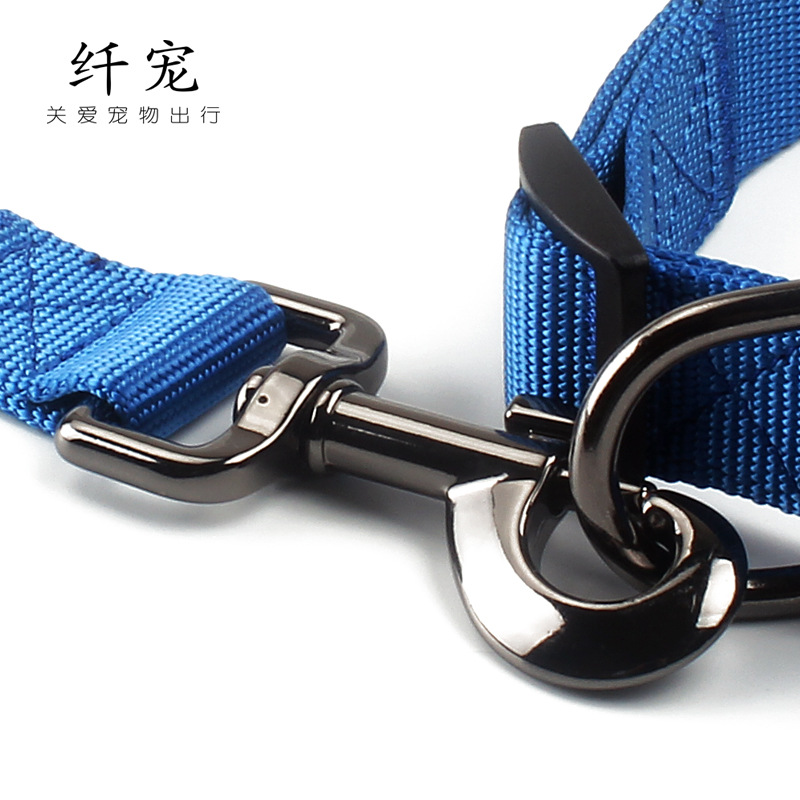 Fiber Pet Nylon Dog Rope Nylon Collar Haulage Rope Package Dog Hand Holding Rope Pet Dog Supplies