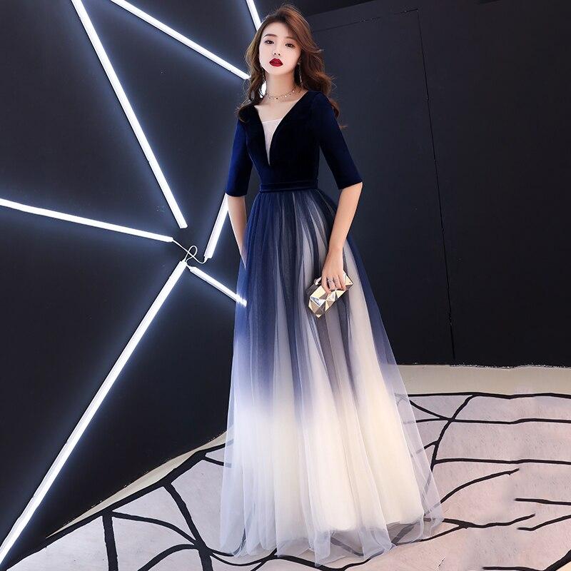 Robe De soirée Sexy robe De bal longue robe De soirée - 2