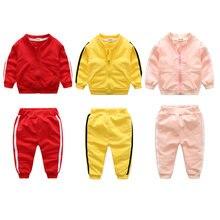 Спортивный костюм для новорожденных мальчиков модная одежда
