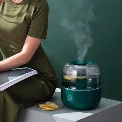 4000ML pojemność ultradźwiękowy nawilżacz powietrza 220V dyfuzor zapachowy pulpit dyfuzor wody Mist Maker oczyszczacz powietrza