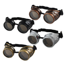 Тяжелый металл Винтажный стиль стимпанк Готический Стиль очки для сварки очки сварочные панк рабочие защитные очки Косплей#3