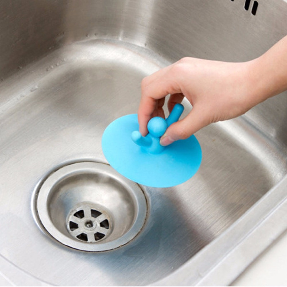 Multifuctional Kitchen Washroom Bathroom Shower Waterproof Silicone Sink Plug Water Sink Bathtub Drainage Stopper Tool