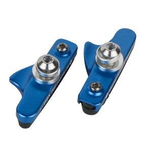 1 пара MTB резиновых тормозных колодок для дорожного велосипеда, тормоза велосипедные V-тормоза, прочные инструменты для велосипеда, аксессуа...