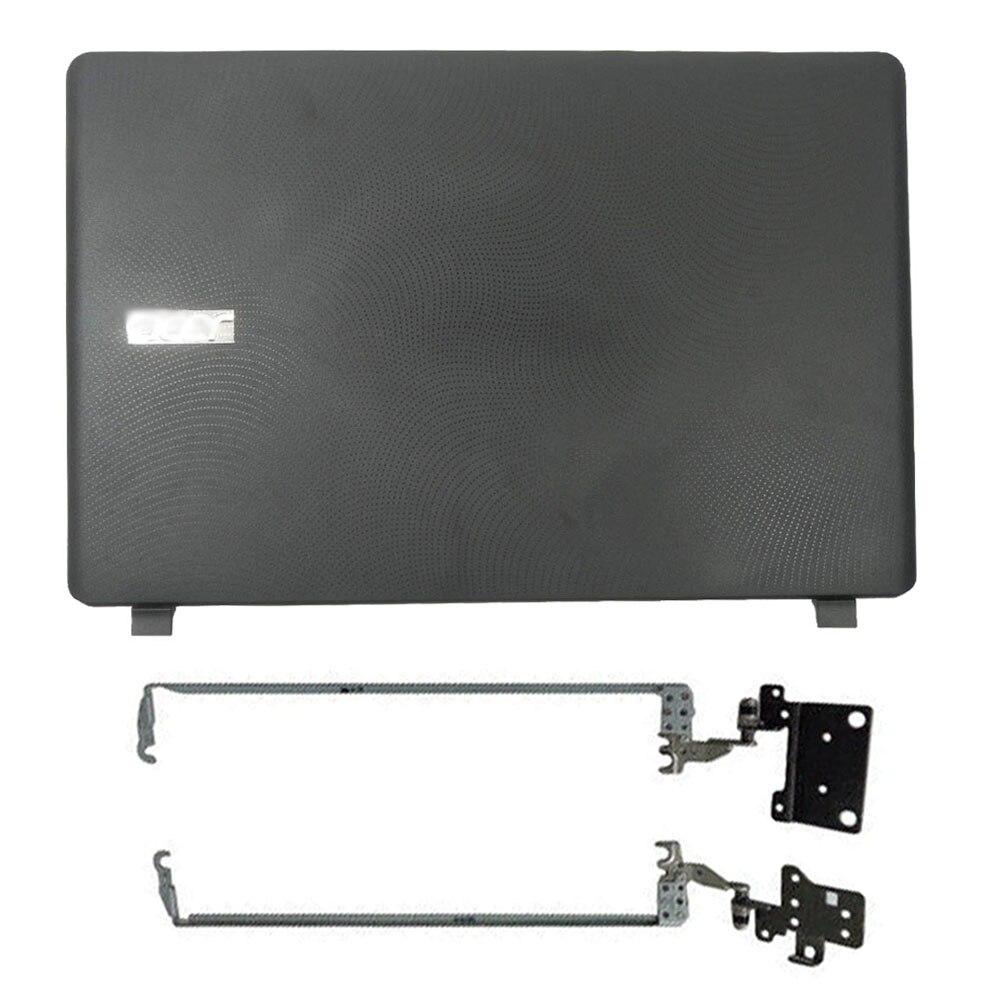 Capa traseira para laptop lcd, moldura dianteira lcd/dobradiças lcd para asus aspior ES1-523 ES1-533 ES1-532 ES1-572 series capa superior