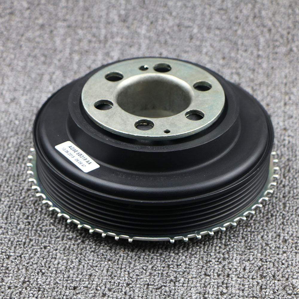 <font><b>Car</b></font> Crankshaft <font><b>Pulley</b></font> For Freelander 2 2006+ Range Rover Evoque 2012+ Range Rover 2013+ LR025252 LR068885 LR078547 image