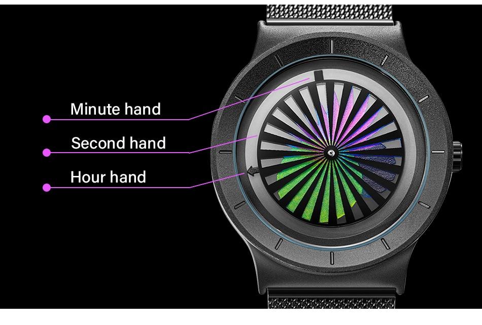 TRANCE designer wristwatch