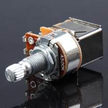 A500K B500K A250K B250K Push-Pull gitara potencjometr sterowany potencjometr części do gitary i akcesoria