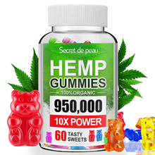 Snack Gummies Secret-De-Peau Sweet Vitamins Emotions Hemp 60 Reduce-Stress Counts Natural