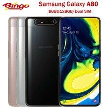 Samsung Galaxy A80 Originale 4G Android Del Telefono Mobile Octa Core 6.7