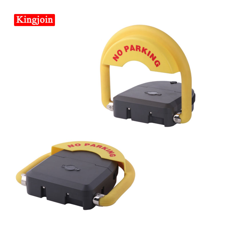 KINGJOIN Waterproof Intelligent Remote Parking Lock 35cm Remote Automatic Parking Remote