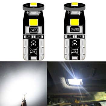 T10 led White Error Free Canbus For BMW X1 E84 F48 X3 E83 F25 X4 F26 X5 E53 E70 X6 E71 E72 LED Interior Light License Plate Lamp image