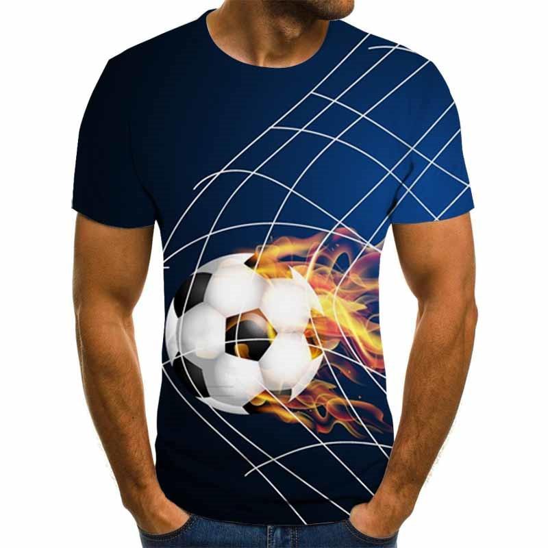 2020 New 3d T Shirt Tee Casual Top Camiseta Streatwear Short Sleeve Fire Print Summer Tshirt Men's T-shirt XXS-6XL