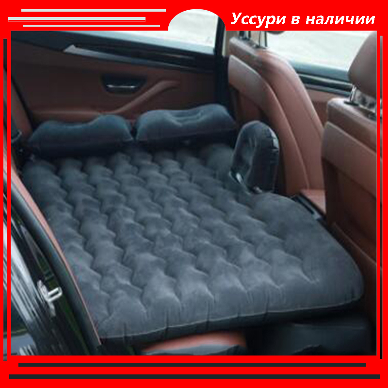Car inflatable bed car supplies sleeping mattress car SUV rear row rear seat cushion sleeping pad air bed travel bedHOZYAUSHKA