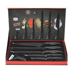 Kitchen Knives Set One Piece Stainless Steel Structure Knives Fruit Utility Santoku Chef Slicing Bread Cooking Knife