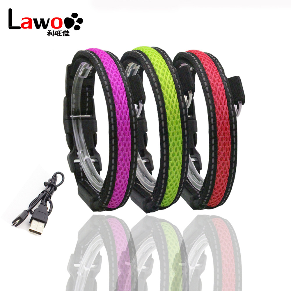 New Style Dog Hand Holding Rope LED Shining Dog Rope Dog Collar Pet Supplies