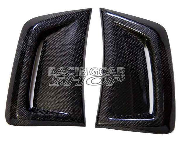 Real CARBON SIDE VENT INSERT 1 pair for BENZ W204 C63 Facelift Coupe 2012-2014 M077 1