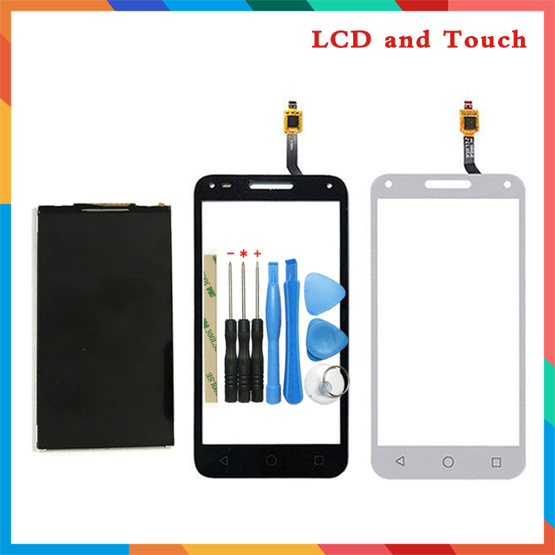High Quality 5.0'' For <font><b>Alcatel</b></font> One Touch U5 3G 4047 <font><b>4047D</b></font> OT4047 <font><b>Lcd</b></font> Display Screen + Touch Screen Digitizer Sensor image