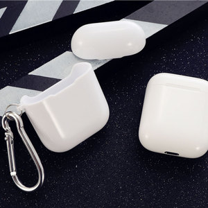 Image 2 - Transparent Soft Silicone Case For Airpods Wireless Headphone TPU For Apple Air Pods 2 Earphone Box Anti Shock Protective Cover
