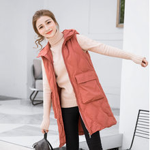 Cotton Vest Woman Short Fund New Down Cotton Thickening Winter Cotton-padded Clothes Vest Loose Coat Tide(China)